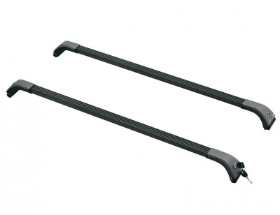 Pre-assembled multi-purpose roof rack for vehicles with rail BRIDGE