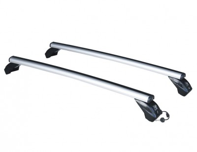 Roof rack with sturdy aluminium alloy supporting structure LP56