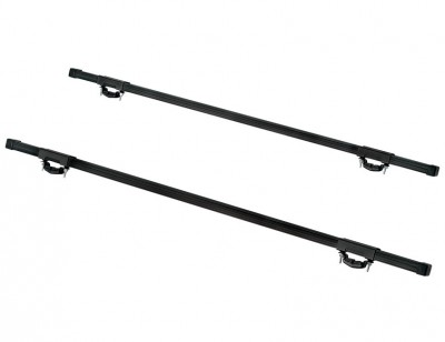 Multi-purpose roof rack for vehicles with rail ECOBRIDGE