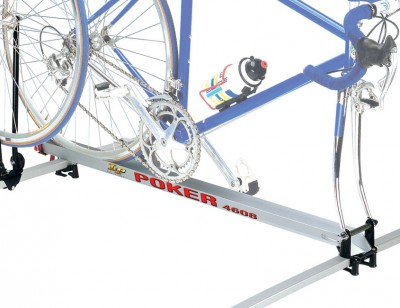 Bicycle carrier kit POKER 4608 for application to luggage carrier bars